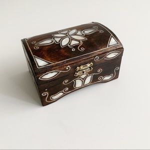 Handcrafted Turkish Jewellery Box Mother of Pearl